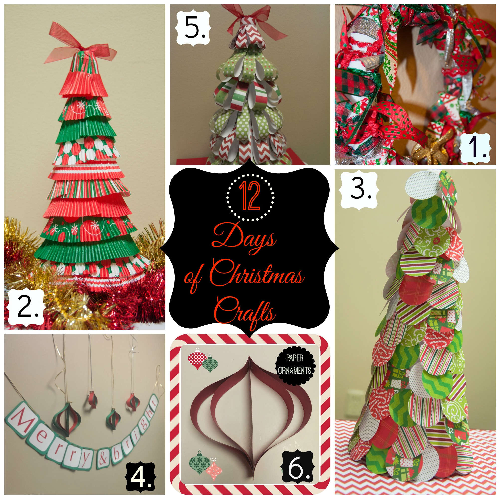12 days of christmas crafts - 12 Days Of Christmas Decorations