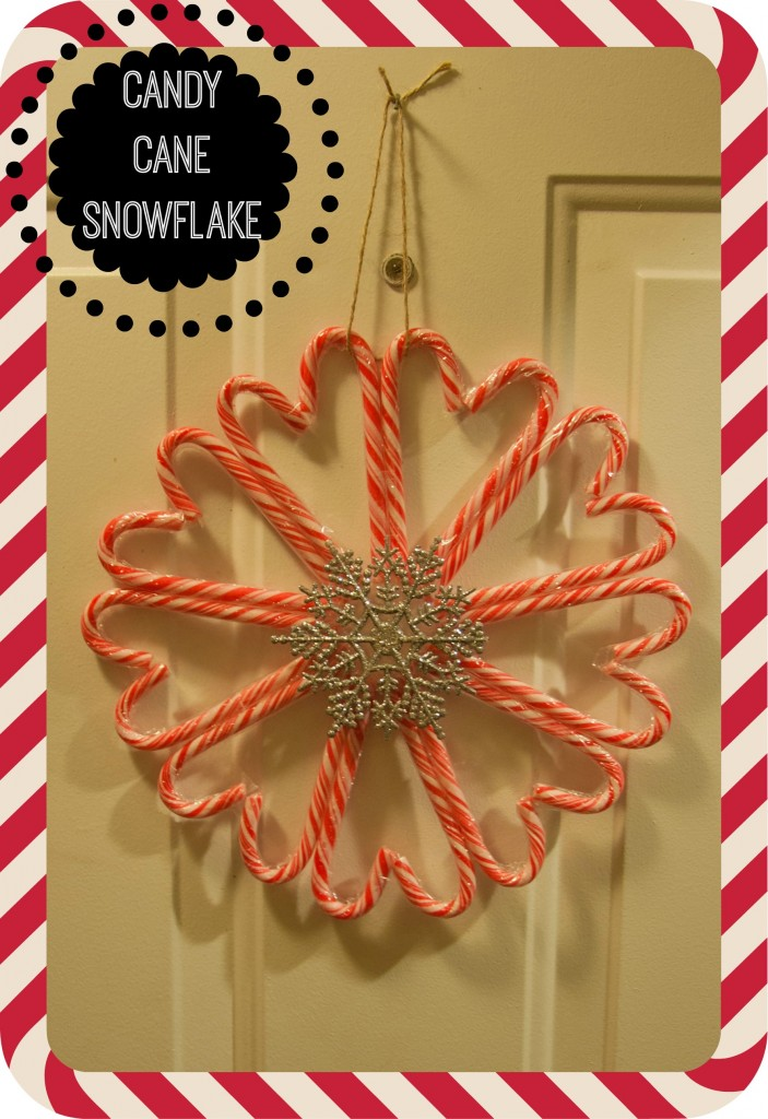 Candy Cane Snowflake