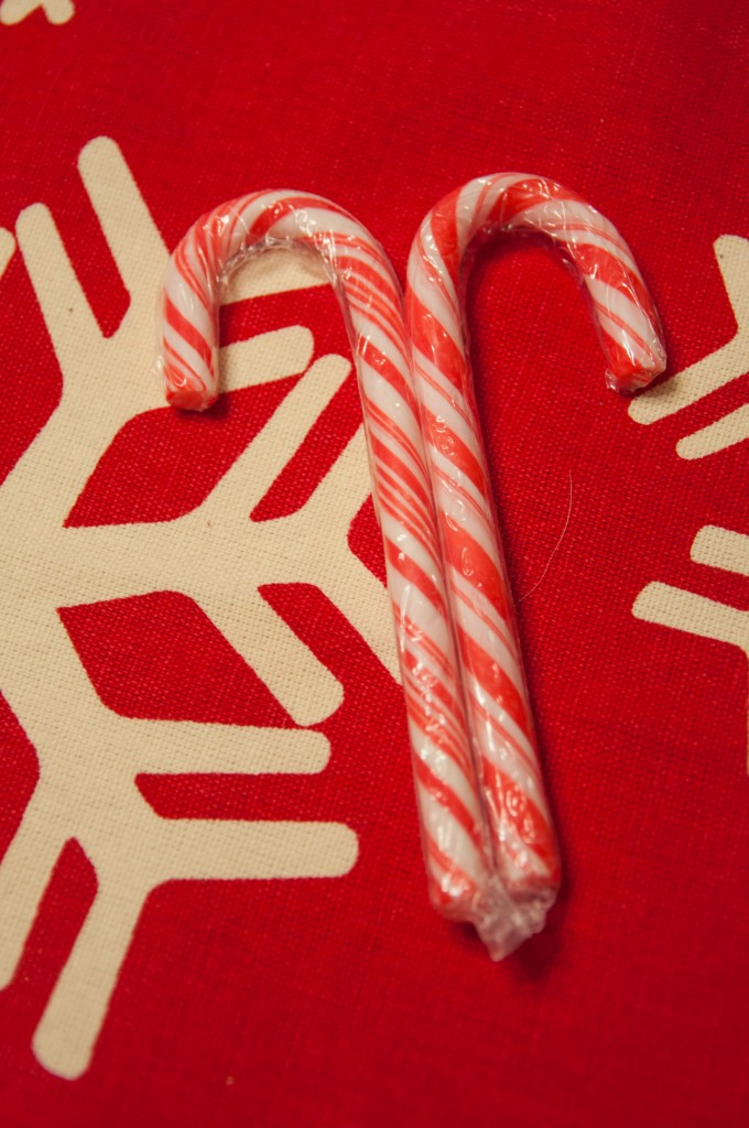 Candy Cane Snowflakes