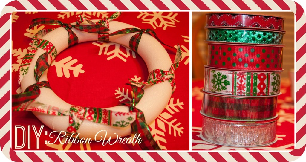 Christmas Ribbon Wreaths