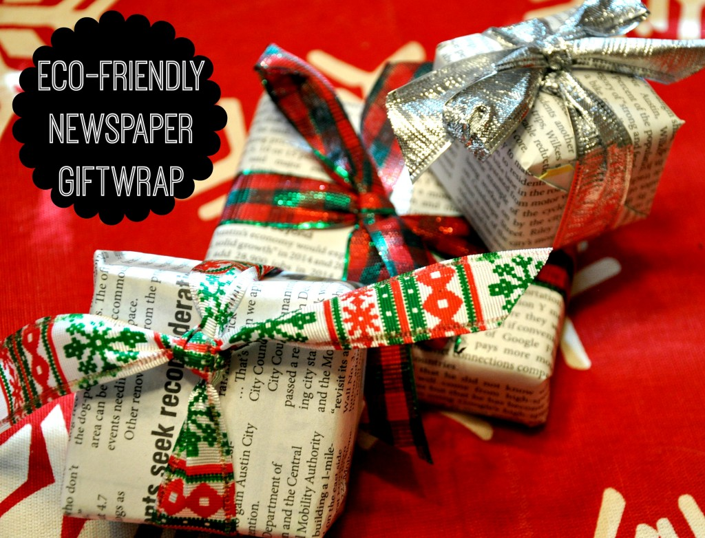 Eco friendly giftwrap