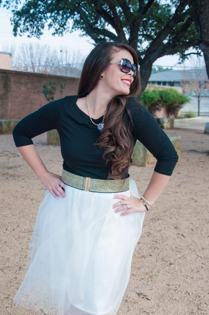 Handmade tulle skirt