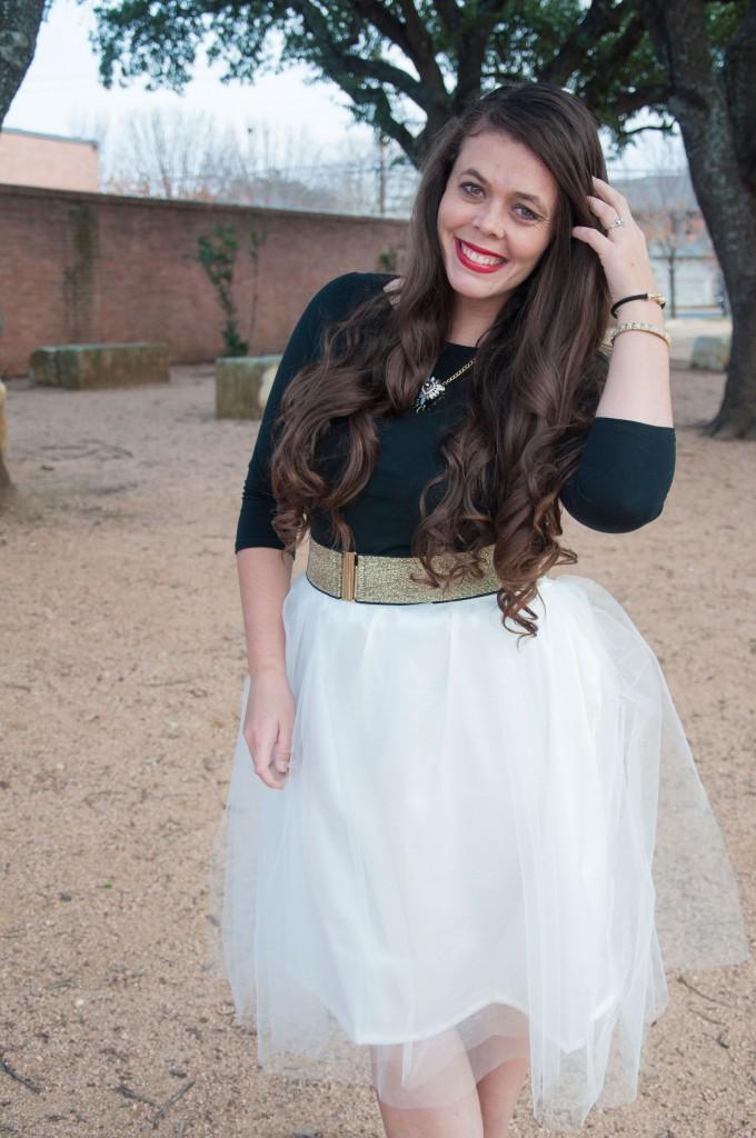 Handmade tulle skirts