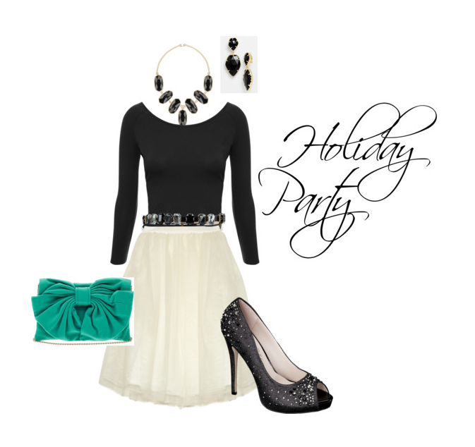Holiday Party Wear- Tulle Skirt