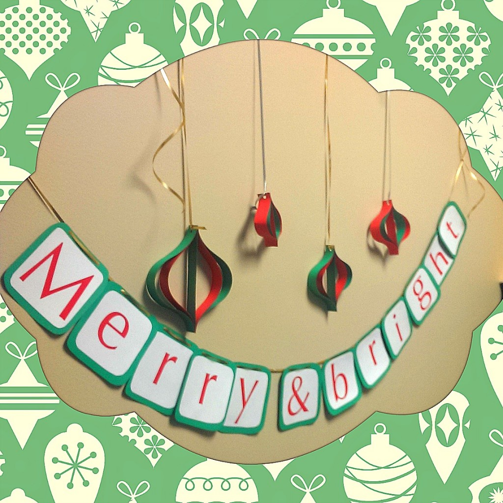 DIY: Merry and Bright Sign
