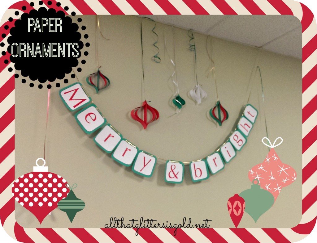 Paper Ornaments DIY