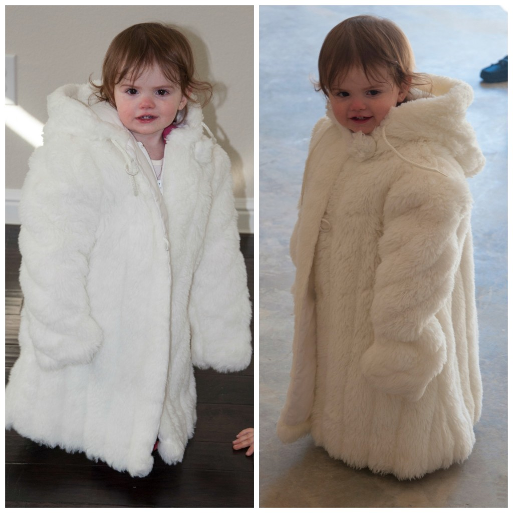 baby in fur