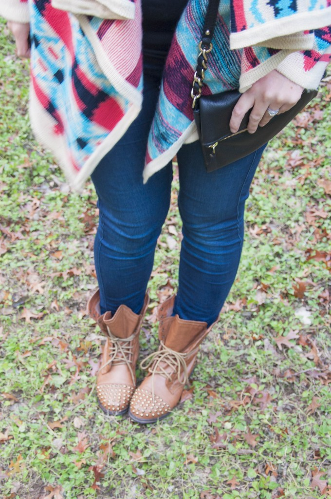 Kate Spade and combat boots