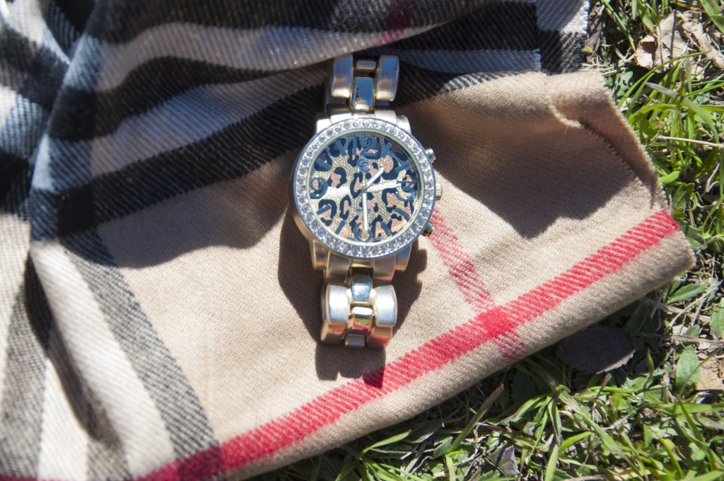 Leopard & Gold Watch