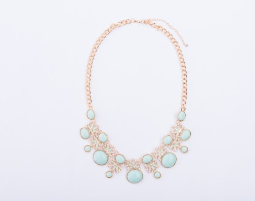 Mint Statement Necklace