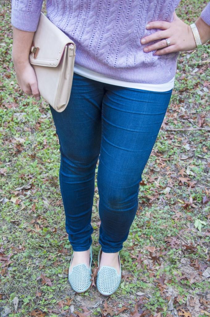 Mint sparkley shoes