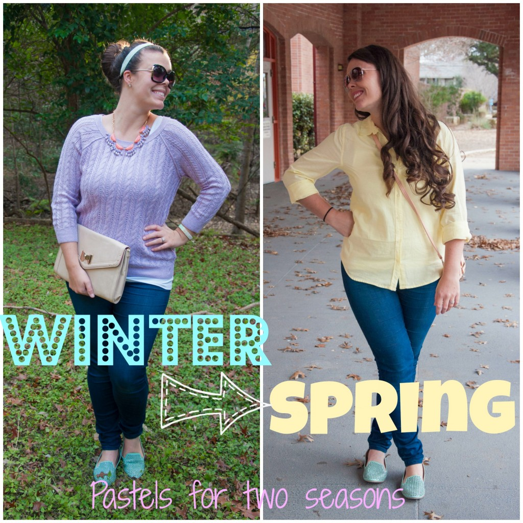 Pastels for winter and spring