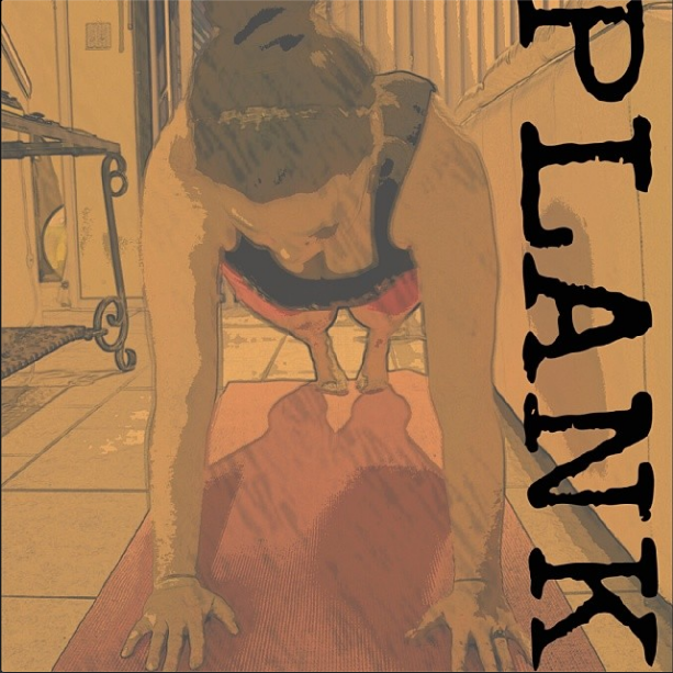 Day 2- 5 minutes plank