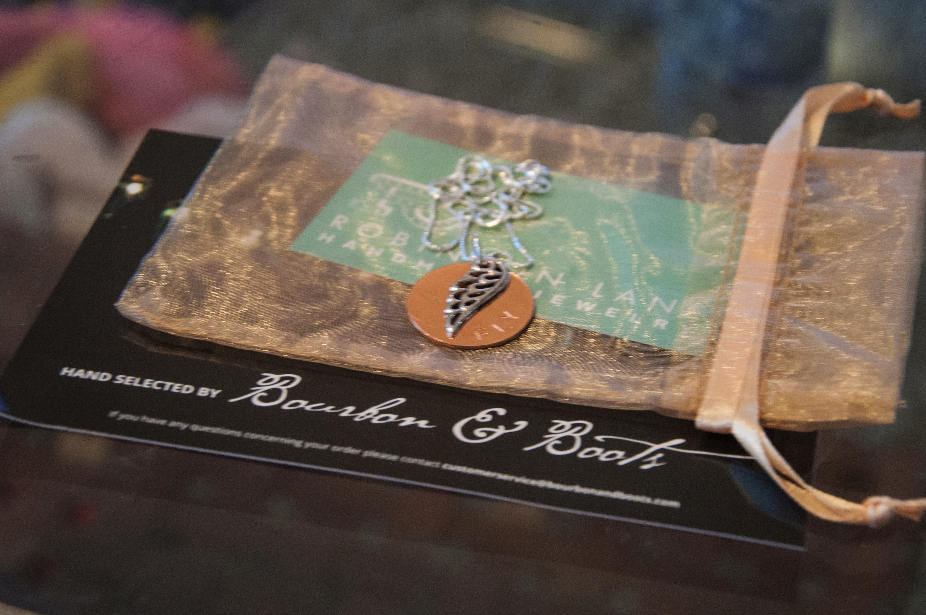 Fly necklace from Bourbon and Boots