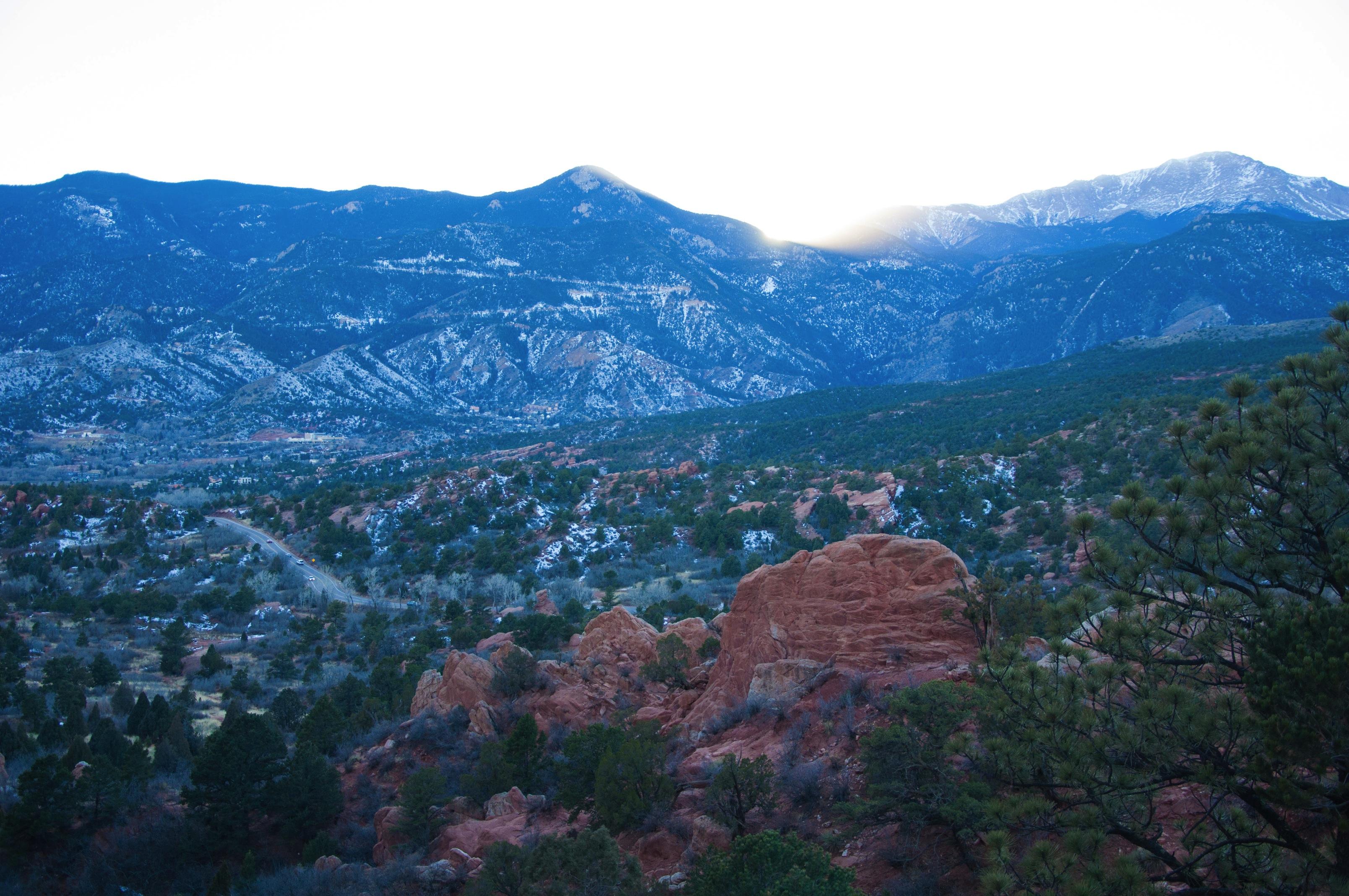 Mountains in Colorado Springs