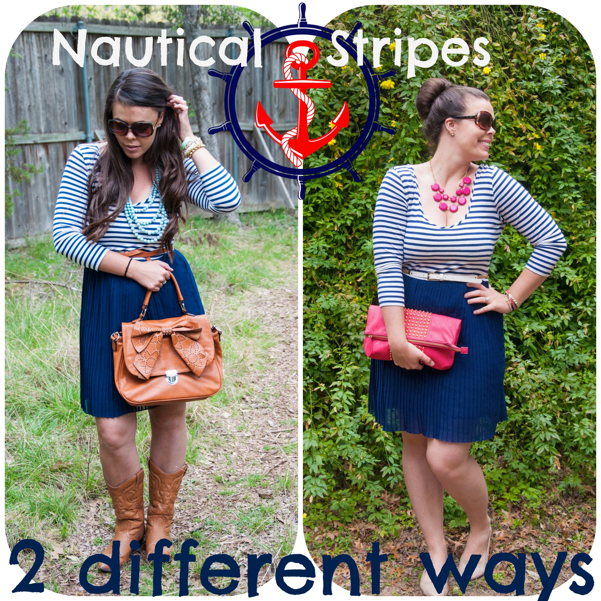 http://allthatglittersisgold.net/2013/04/20/stripes-bows-and-boots/