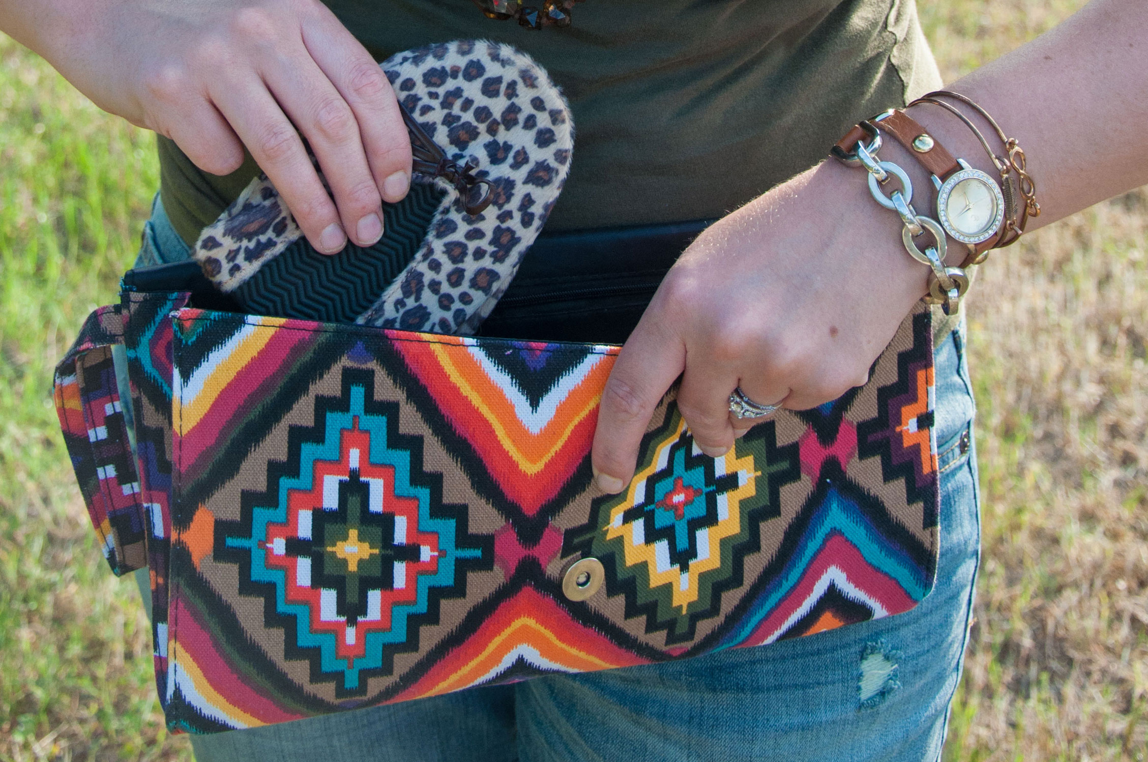 Shoes to fit in your clutch