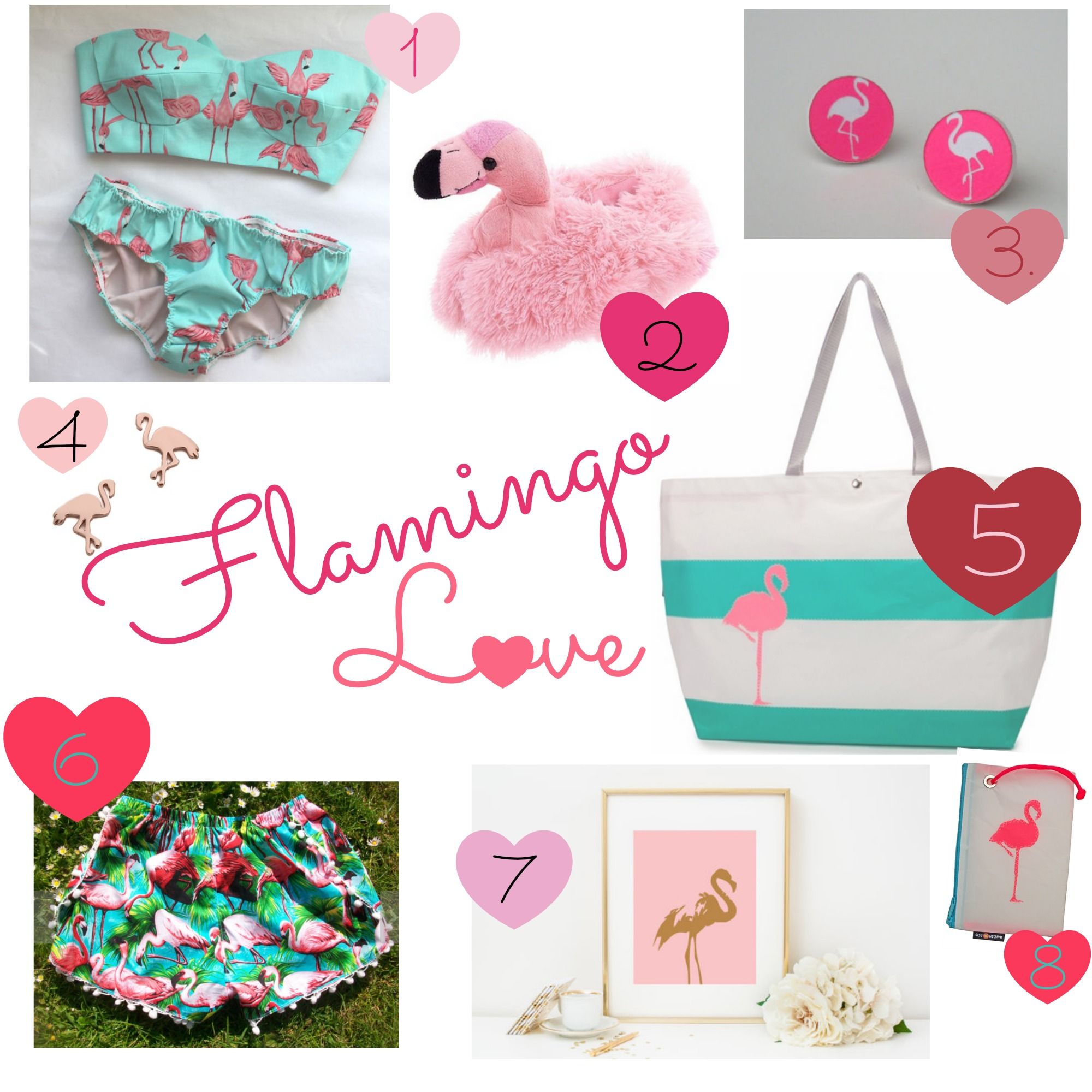 Flamingo Love