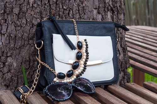 Black and White Accessories