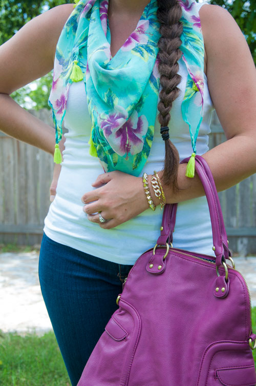 Color Crush- Mint and purple