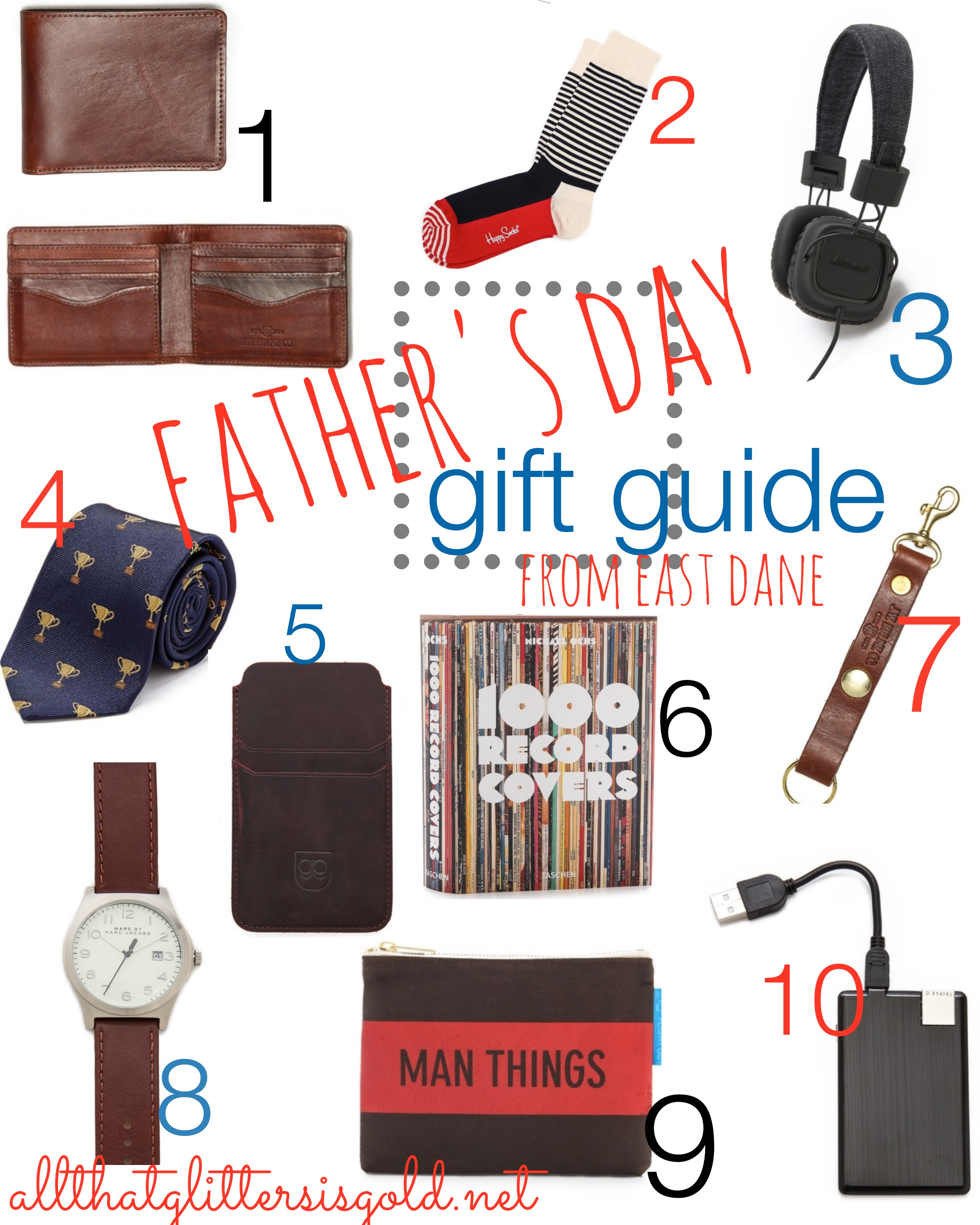 Fathers day Gift guide from East Dane