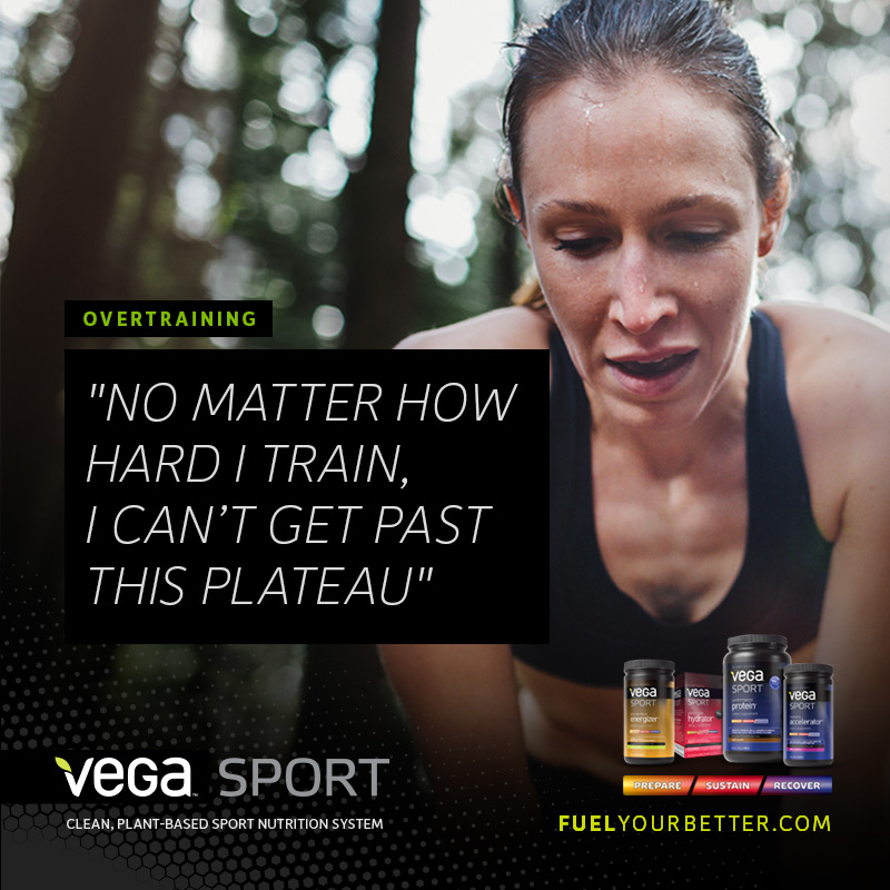 Can't get past this plateau Vega Sport Protein