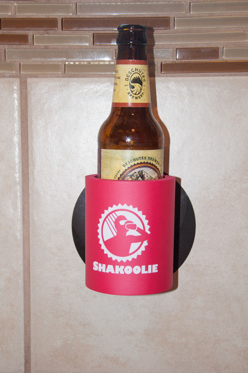 Shakoolie shower beer holder