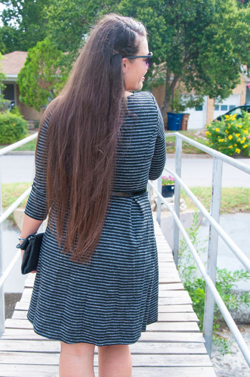 Long brown hair with braids