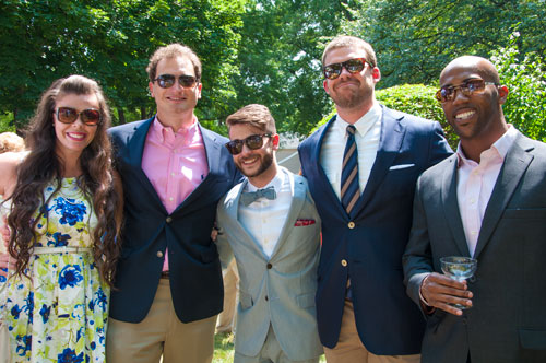 Preppy wedding wear