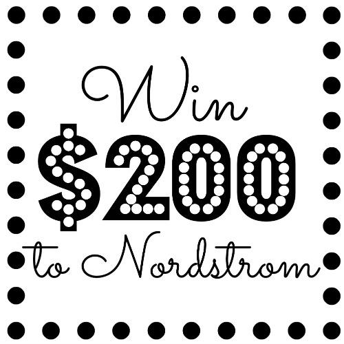 Win $200 Nordstrom