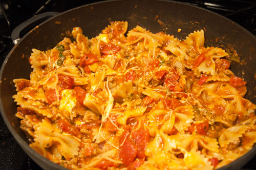 Yummy Skillet Lasagna
