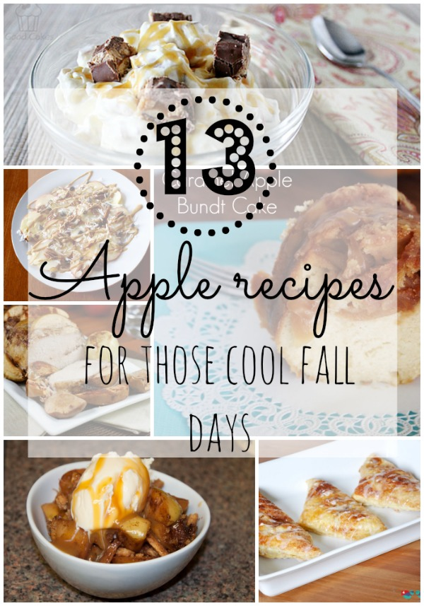 13 Apple Recipes