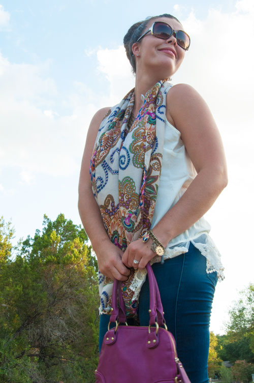 All That Glitters Blog- Boho outfit inspiration for fall