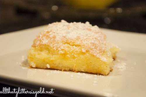 Easy Two Ingredient Lemon Bar Recipe