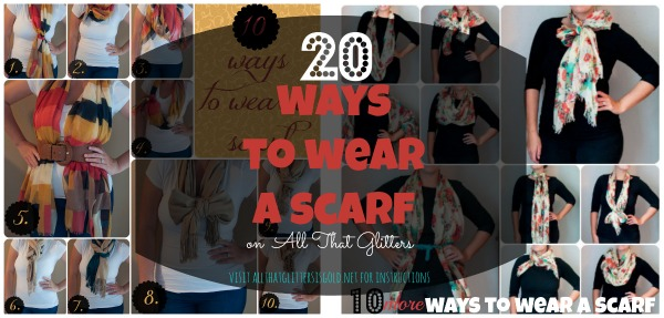 20 Ways To Wear a Scarf