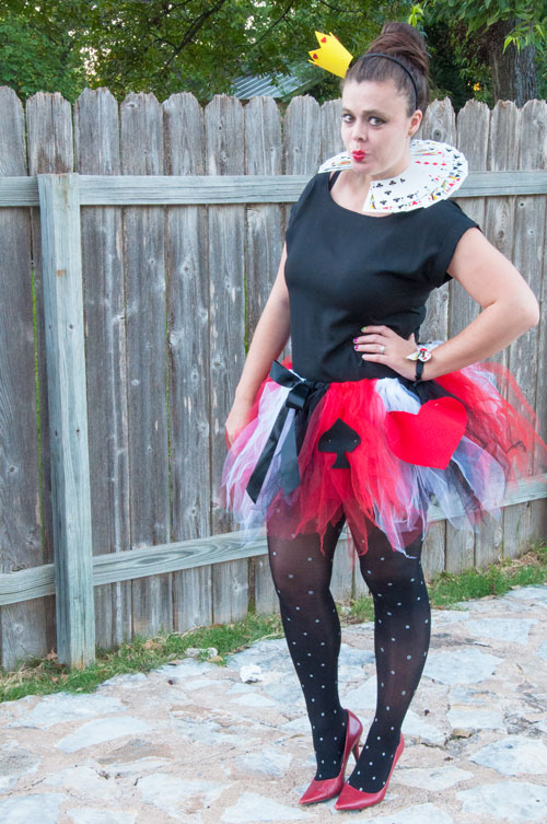 Diy costume all that glitters diy queen of hearts costume solutioingenieria