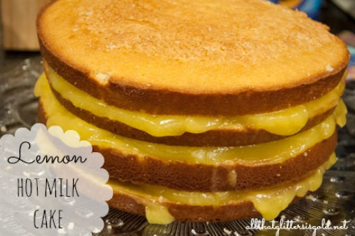 Lemon Hot Milk Cake