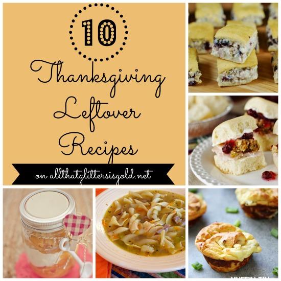 10 Thanksgiving Leftover Recipes