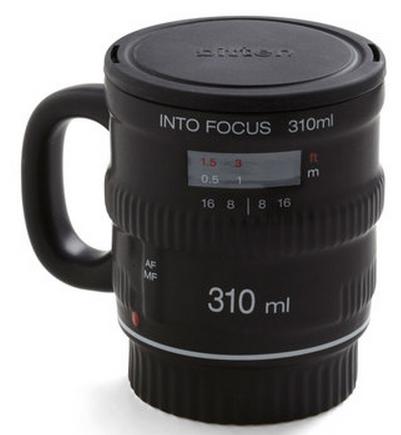Camera Lense Mug