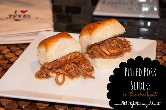 Easy Pulled Pork Sliders in the Crockpot