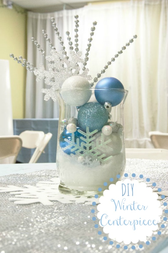 Days of christmas day winter centerpiece all that