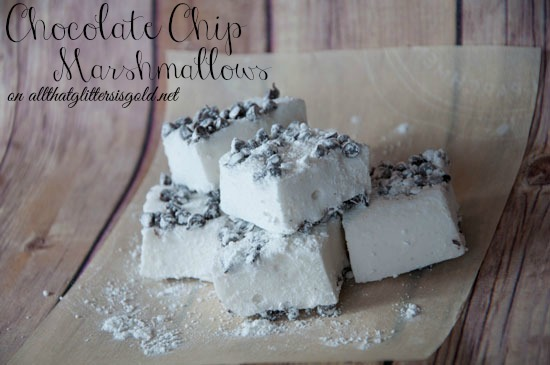 Homemade Chocolate Chip Marshmallows