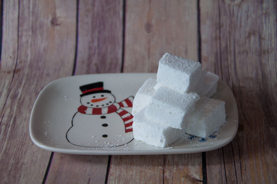 Homemade Marshmallows- Great for hot chocolate or smores