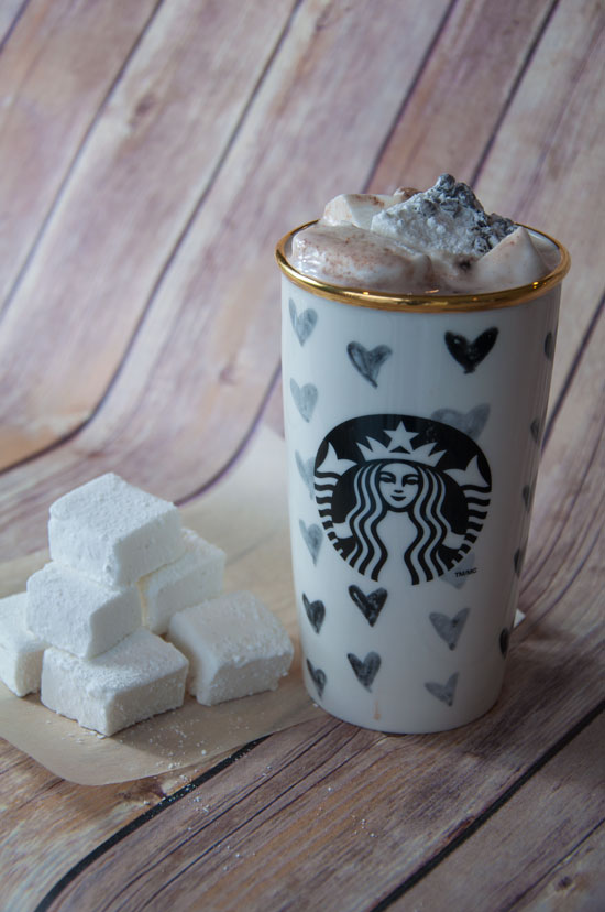 Homemade Marshmallows with Hot Cocoa