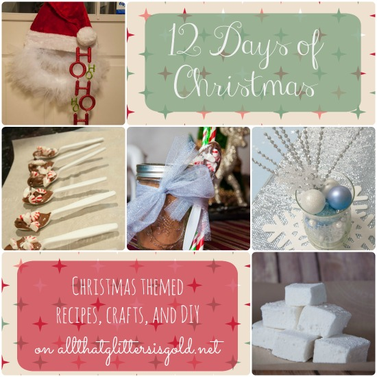 12 Days of Christmas- recipes, crafts, and DIY
