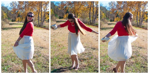 Red Holiday Oufit- Twirl