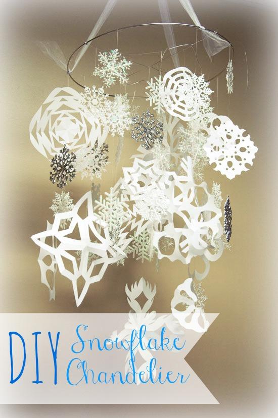 Snowflake Chandeliers