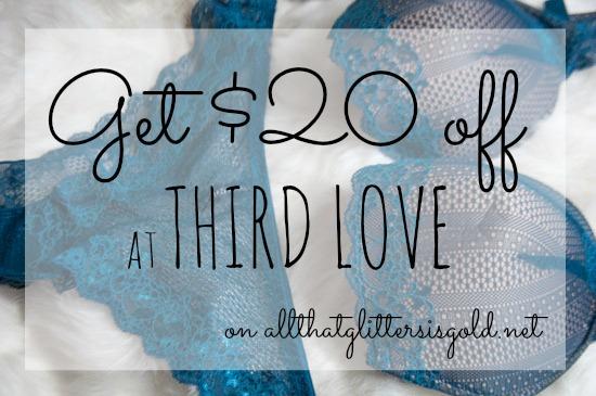 $20 off at Third Love Equalizer bra and undies