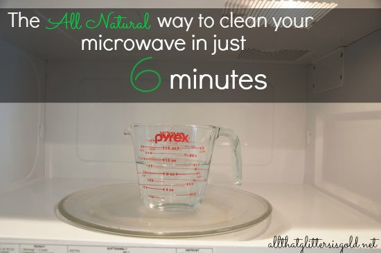 The all natural way to clean your microwave