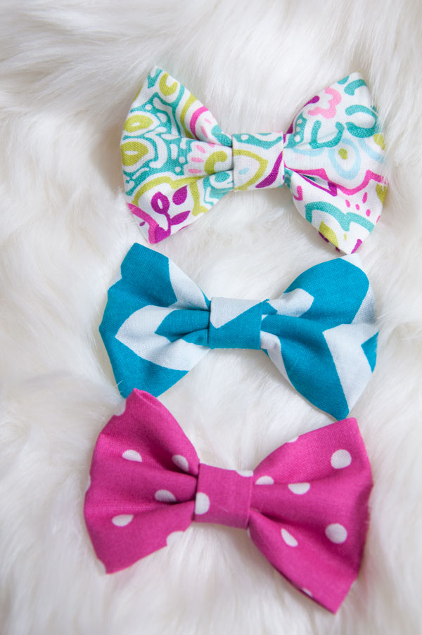 Girlie Prints Bow Set